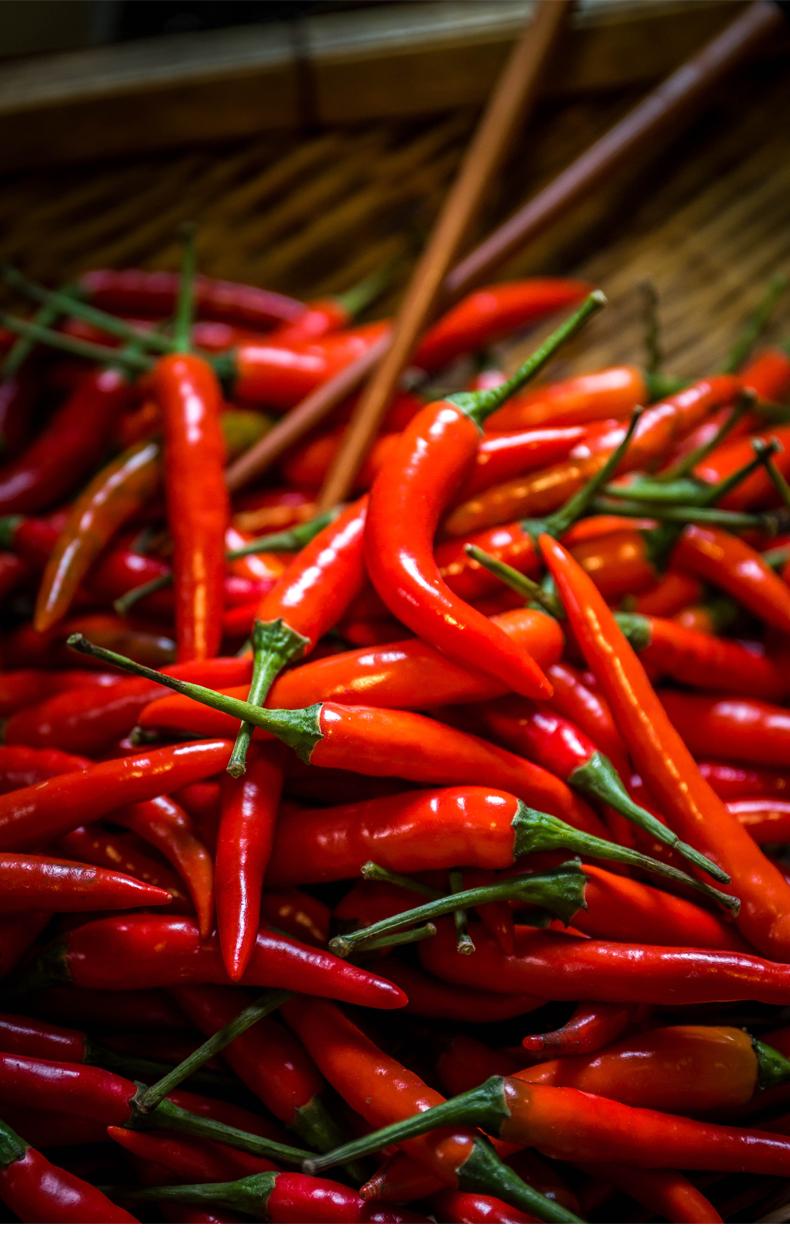 红辣椒做的酱