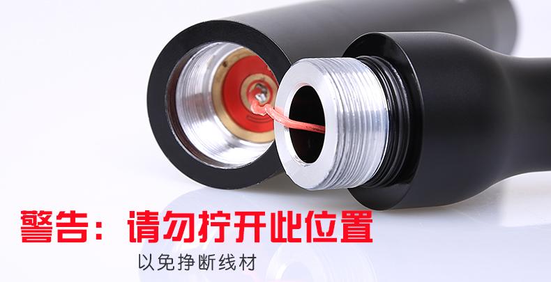 神火棒球棍强光手电筒Y11产品图片介绍