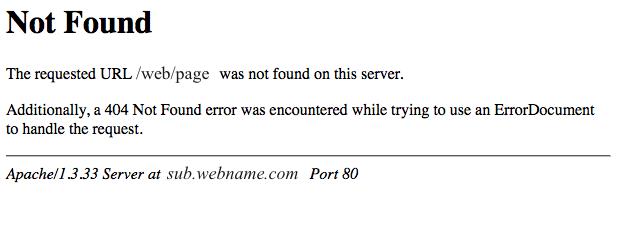 404 not found,404错误页面怎么解决是什么原因引起的!