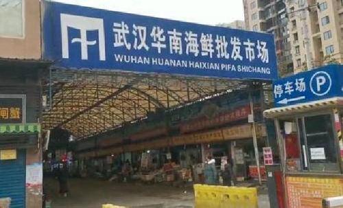 武汉海产品市场