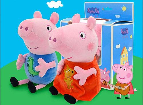 小猪佩奇上课的玩具