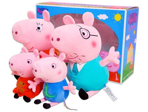 我想看小猪佩奇看电视的玩玩具的