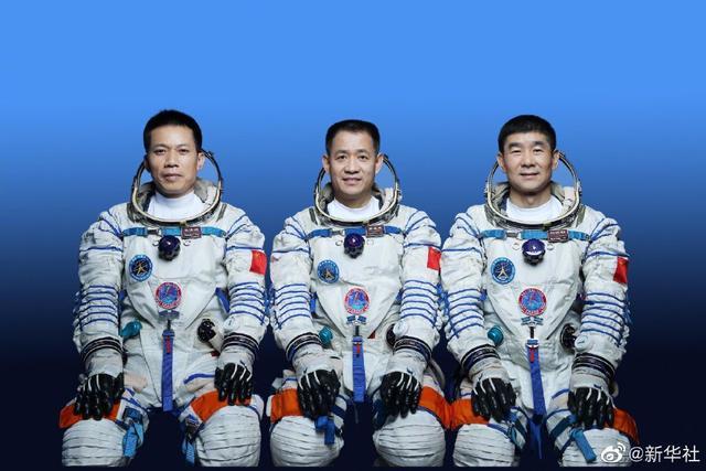 神舟十二号三人乘组名单确定:聂海胜、刘伯明和汤洪波
