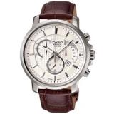 卡西欧BEM-506L-7AV 商务系列 三眼记时防水优雅皮带手表