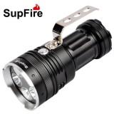 正品神火L1 最新手提式手电筒 5头T6灯泡超亮 3000流明