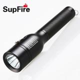 2014新款SupFire神火D6 防爆潜水强光手电筒 进口Q5灯芯