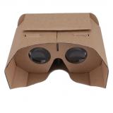 新款vr眼镜谷歌纸质3D纸盒42mm高清镜片菱形GoogleCardboard