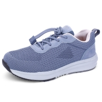 电视同款鞋子夏季新款中老年健步鞋 透气防滑软底运动鞋男女妈妈鞋老人鞋
