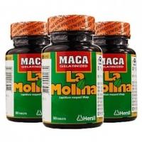 拉摩力拉玛卡片 60粒大瓶装 秘鲁正品MACA玛咖男女保健品 补肾抗疲劳提高精子活力增强免疫力