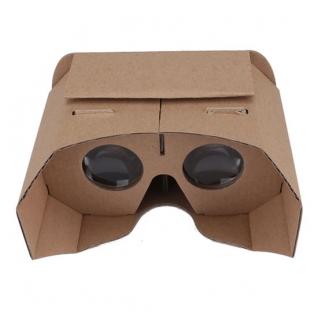 新款vr虚拟现实眼镜谷歌纸质3D纸盒42mm高清镜片菱形GoogleCardboard