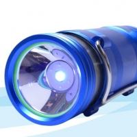 正品特卖 4档蓝白双光源充电夜钓灯 钓鱼灯垂钓用品