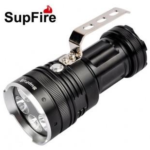 新款手提式探照灯手电筒型号神火L超亮T6灯泡15头3000流明