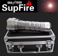 正品 美国SupFire神火 HID-24W超高亮度HID氙气灯手电筒