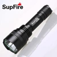 正品神火C8强光手电筒 升级版强光远射型 户外防身防狼LED