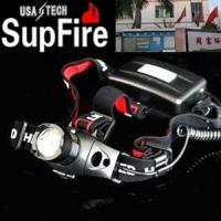 SupFire神火CreeQ5 LED伸缩变焦头灯 260流明强光