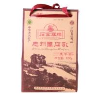 风味特产 石宝寨忠州豆腐乳是怎么做的 红油/麻辣/香辣/白方/白菜/卤香850g六味礼盒装