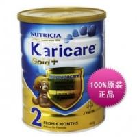 新西兰 Karicare Gold+金装加强2段牛奶粉 900g