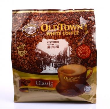 马来西亚 旧街场经典原味白咖啡 600克 40*15