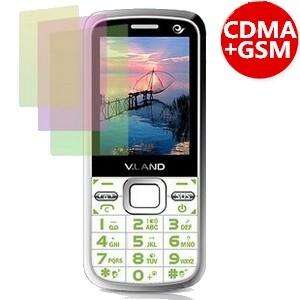 v.land葳朗VD315 电信CDMA双模三卡三待老人手机