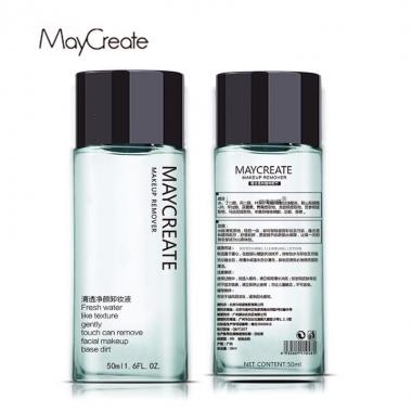 健美创研MayCreate脸部温和深层清洁眼唇卸妆液水50ml两瓶装