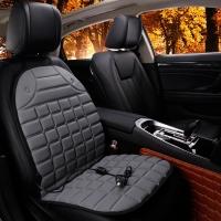 汽车加热坐垫冬季车载座椅12V车用电加热座垫褥子单双座轿车汽车用品
