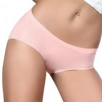 专柜正品 低腰提臀三角裤性感光面无痕一片式纯色女式内裤