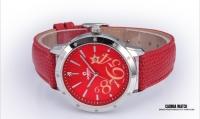 新款 香港时尚卡斯曼\casima手表 真皮女表 时装表 女士手表2803