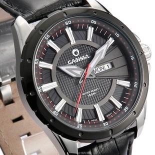 正品牌卡斯曼男表 运动男士手表 防水表时装表