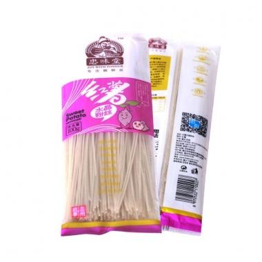 最基本的家常菜红薯粉条做法简单好吃 重庆土特产红薯水晶粉丝价格实在川菜必备