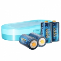 煤气灶电池换丰蓝1号南孚电池,抗高温更耐用四支装不费电的大号干电池!