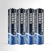 新一代南孚锂可充锂电池充电套装,仅1.8小时急速充电的五号aa电池4支装