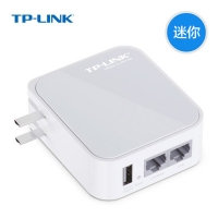 150m迷你型tp-link无线路由器TL-WR710N 便携双网口带模式开关USB充电