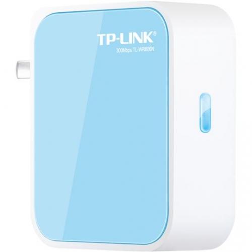 迷你路由器哪种好 TP-LINK品牌TL-WR800N便携式300M迷你型无线路由器