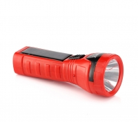 康铭led可充电迷你太阳能小手电筒 家用便携户外多功能强光应急灯