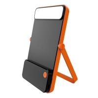 最新led太阳能手电筒批发价格行情 康铭led太阳能自动充电应急灯超实惠