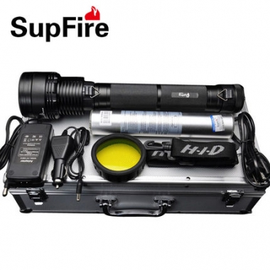 什么是氙气灯 氙气手电筒的特点优势神火HID-35W颠覆你的想象