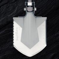 四合一工兵铲哪种好 神火品牌BG02多功能军工铲折叠式锰钢尖头小铁锹