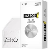 Jissbon杰士邦零感超薄避孕套0.01安全套男用计生用品超薄中的超薄