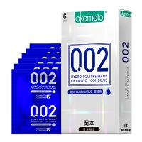 冈本002超润滑避孕套0.02超薄聚氨酯安全套套男女情趣用品
