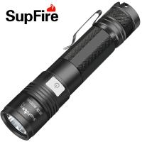 强光迷你小手电筒神火A5可充电特种兵用远射防水型手电