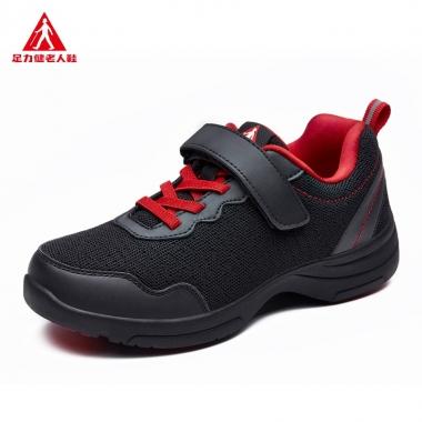 老年鞋足力健跳舞鞋 中老年人广场大妈跳舞运动软底健步女鞋