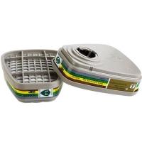 3M 6006多功能气体有机蒸汽防护滤毒盒 过滤盒6200面具使用