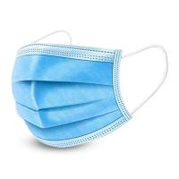 一次性三层无纺布口罩 安全无菌加厚透气防尘防颗粒口罩