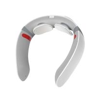智能颈椎按摩器 家用肩颈按摩仪电动蓝牙声控揉捏热敷