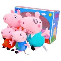 小猪佩奇给娃娃打针