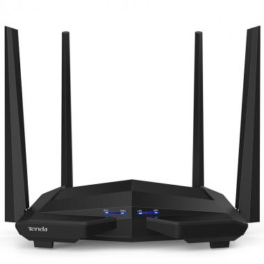 腾达AC10双千兆无线路由器千兆端口家用高速wifi穿墙王双频5G路由器